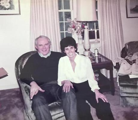 A photo of Frank and Janice Daly in 1984, six years after their marriage. Janice had once been a Catholic nun, a member of the Sisters of St. Joseph.